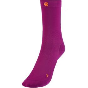 Bauerfeind Run Ultralight Mid Cut Socks Women, rosa